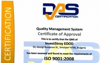 Certtificate ISO 9001-2008